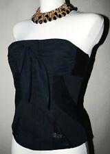 WOW  Damen Top Korsage Shirt Gr XS 32-34 schwarz black wNEU!NEW! NP 139,90 Euro
