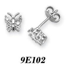 Pendientes de joyería con diamantes en oro blanco I1