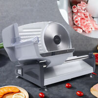 "7.5"" Blade 200W Commercial Meat Slicer Electric Deli Frozen Meat Slice Cutter"