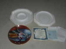 Michael Air Jordan His Airness Plate 5 Time Nba Mvp Upper Deck 4208C Coa Limited