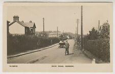 Hampshire postcard - Main Road, Bordon - RP