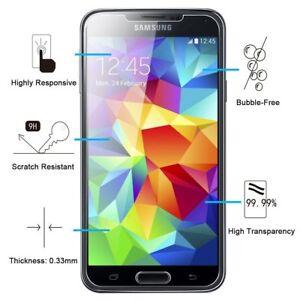 Film Vitre Verre Trempé Protection d'écran Pour Samsung Galaxy S3/S3 MINI/S4/S5