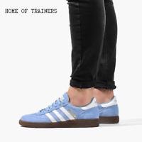 adidas Handball Spezial Blue White D96794 Men's Trainers All Sizes - SALE