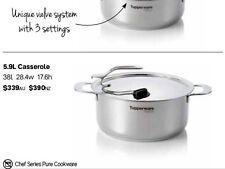 Tupperware Chef Series Pure Cookware 5.9 Litre Casserole