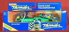 Matchbox Days of Thunder Team Transporter Car Carrier Semi Tractor Trailer #51