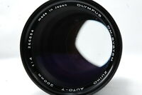 **Not ship to USA** Olympus OM-SYSTEM ZUIKO MC AUTO-T 200mm F4 Lens SN266654