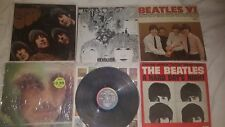 The Beatles LP Record Lot of 6 Rubber Soul Revolver VI Day's Night Lonely Hearts