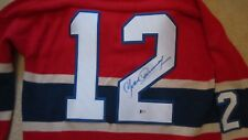 Yvon Cournoyer Autographed Canadiens Sweater Beckett Authenticated