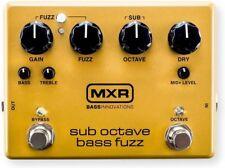 MXR M287 Sub Octave Bass Fuzz Pedal Bass Effect Pedal - New