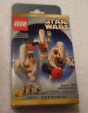 LEGO STAR WARS Battle Droid Minifig Pack Set 3343 New Sealed Droid Commander