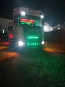 Scania 5 X LED Grill Strip light bar R or S series, Next Gen