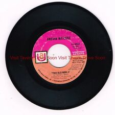 """UA 50522 Grover Mitchell - Who Can I Turn To (When Nobody Needs Me) Soul 7"""" EP"""