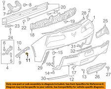Chevrolet GM OEM 10-13 Camaro Rear Bumper-Side Bracket Retainer 92223721