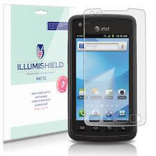 iLLumiShield Anti-Glare Matte Screen Protector 3x for Samsung Rugby Smart