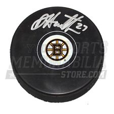 Dougie Hamilton Boston Bruins Signed Autographed Bruins Small B Logo Hockey Puck