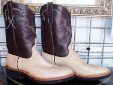 Anderson Bean Sand Kidskin Roper Crepe Sole Cowboy Boots 8.5 B Ladies 9.5 to 10