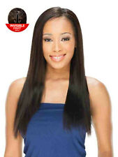 """Saga 100% Remy  Invisable Part Human Hair  Wig - Sheer 18"""""""