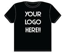 Custom Screen Printing Lot 10 T Shirts Reunions, Marathons, 5K, School, Church
