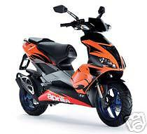 APRILIA TOUCH UP PAINT SR50 FACTORY 06 RACING ORANGE .