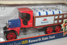 1925 Kenworth Mobiloil Stake Truck, Ertl Bank, 1/34 Scale Mint Boxed