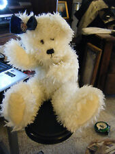 "Boyd's Bear The Archive Series- 14"" White Fuzzy Girl Bear w/Rotating Arms & Legs"