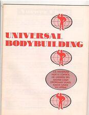 UNIVERSAL BODYBUILDING/Muscle Control/Strongman Stunts/Karate/Sex Appeal/Savate