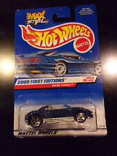 Hot Wheels 2000 #080 First Editions MX48 Turbo #20 of 36 Max Steel Unopened
