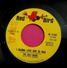 THE JELLY BEANS - I Wanna Love Him So Bad - clean 45 rpm - Red Bird 10003