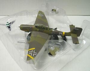 """Junkers Ju-87 G-2 """"Hans Ulrich Rudel"""" , Fertigmodell, Atlas, 1:72, Metall, Neu"""