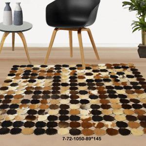 Modern floor rugs patchwork cowhide rug Bohemian new rugs online AU 7-72