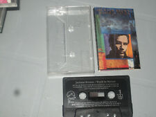 Jackson Browne - World In Motion (Cassette, Tape) Working Great Tested