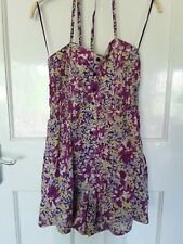 Ladies Shorts Playsuit Sz S / 10 By Johnny Martin
