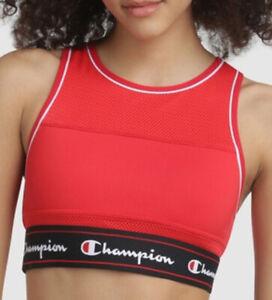 Champion red sport women tank bra M-L