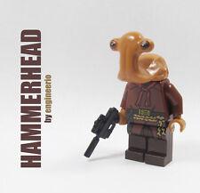 LEGO Custom Hammerhead Momaw Nadon Star Wars Cantina mini figure 75052 greedo