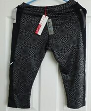 ONE PAIR OF ELLE Sport Capri Leggings , UK 12, Eur M, Breathable fabric