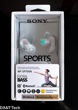 Sony Noise Cancelling Wireless In Ear Headphones WF-SP700N - White