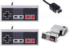 For Nintendo NES Mini 2016 2x Classic Retro Controllers Gamepads