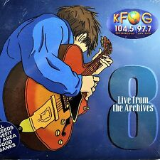 KFOG Live From The Archives CD #8 Coldplay Lesh Train DMB Furs Tedeschi 2001 New