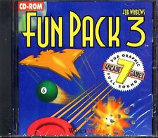 Fun Pack 3 for Windows (PC-CD, 1994) for Windows - New CD in SLEEVE