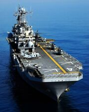 New 8x10 Photo: USS Nassau (LHA-4) Tarawa-class Amphibious Assault Ship
