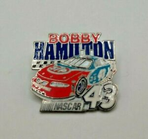 Wincraft Racing Bobby Hamilton STP #43 Pontiac Grand Prix Nascar Hat Lapel Pin