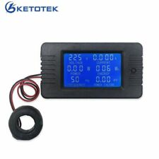 Digital Voltmeter Ammeter AC Current Voltage Meter Power Energy Freq Detector