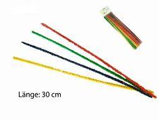 25 Pfeifenreiniger bunt extra lang 30 cm