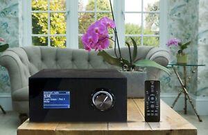 Internetradio IWR 271 mit Bluetooth USB 2.0 DAB/DAB+ schwarz