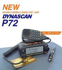 DYNASCAN P 72 Doble Banda Vhf Uhf Móvil Amateur Radio 2m 70cm