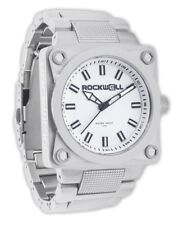 Wrist Watch White / Silver Sf-101 Limited Brand New In Box Mens Rockwell 747