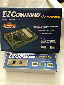 BACHMANN EZ COMMAND - 36-510 COMPANION & 36-515  CONNECTOR PANEL - BOXED