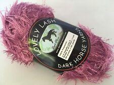 Dark Horse Yarns Lovely Lash #205 Orchid Pink Eyelash Yarn 50gr 92y