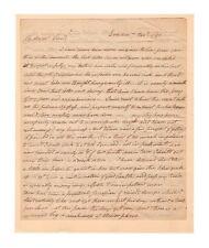 Samuel Ward Rhode Island Revolutionary War Officer 1792 Autograph Letter!
