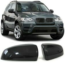 Aussenspiegel Kappen Abdeckungen Cover Carbon für BMW X5 E70 06-13 X6 E71 08-13
